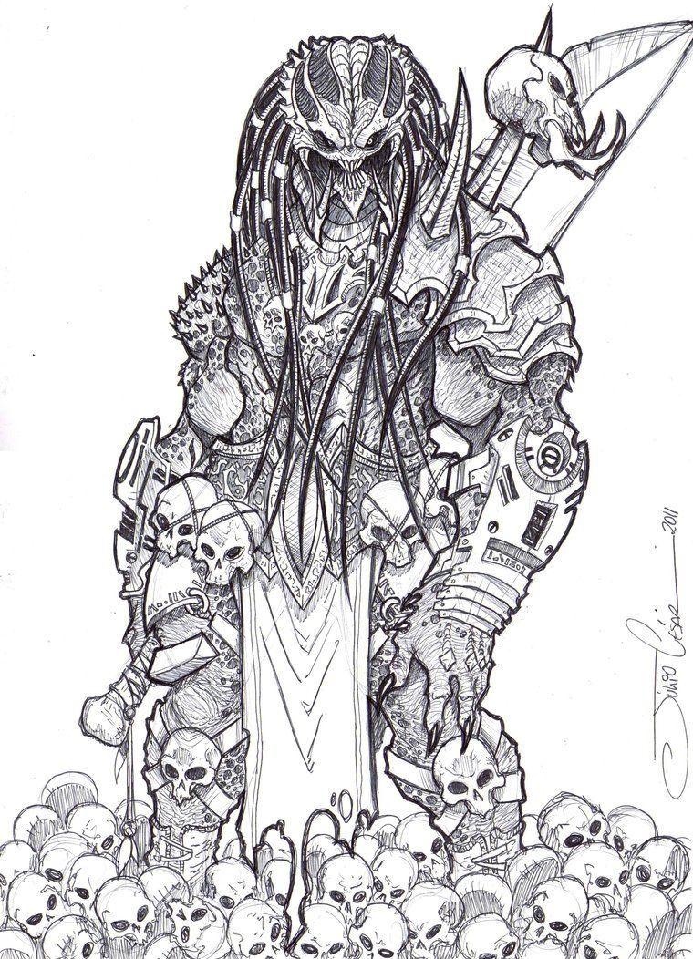 Brutal Predator By Vandalocomics Predator Artwork Predator Art Predator