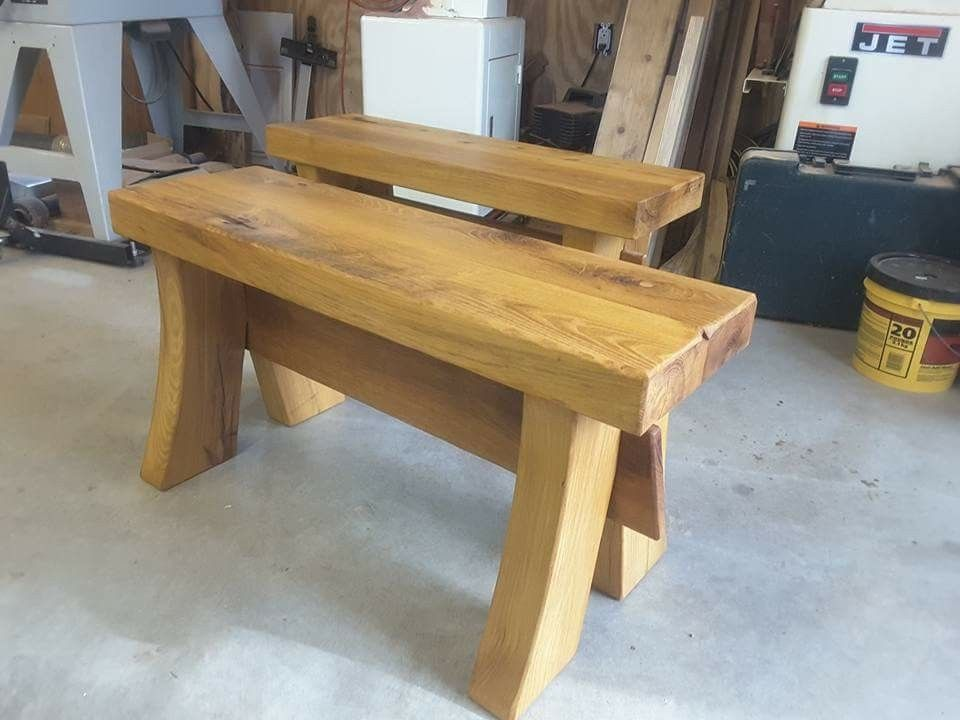 Black Locust Benches Decor Outdoor Furniture Step Stool