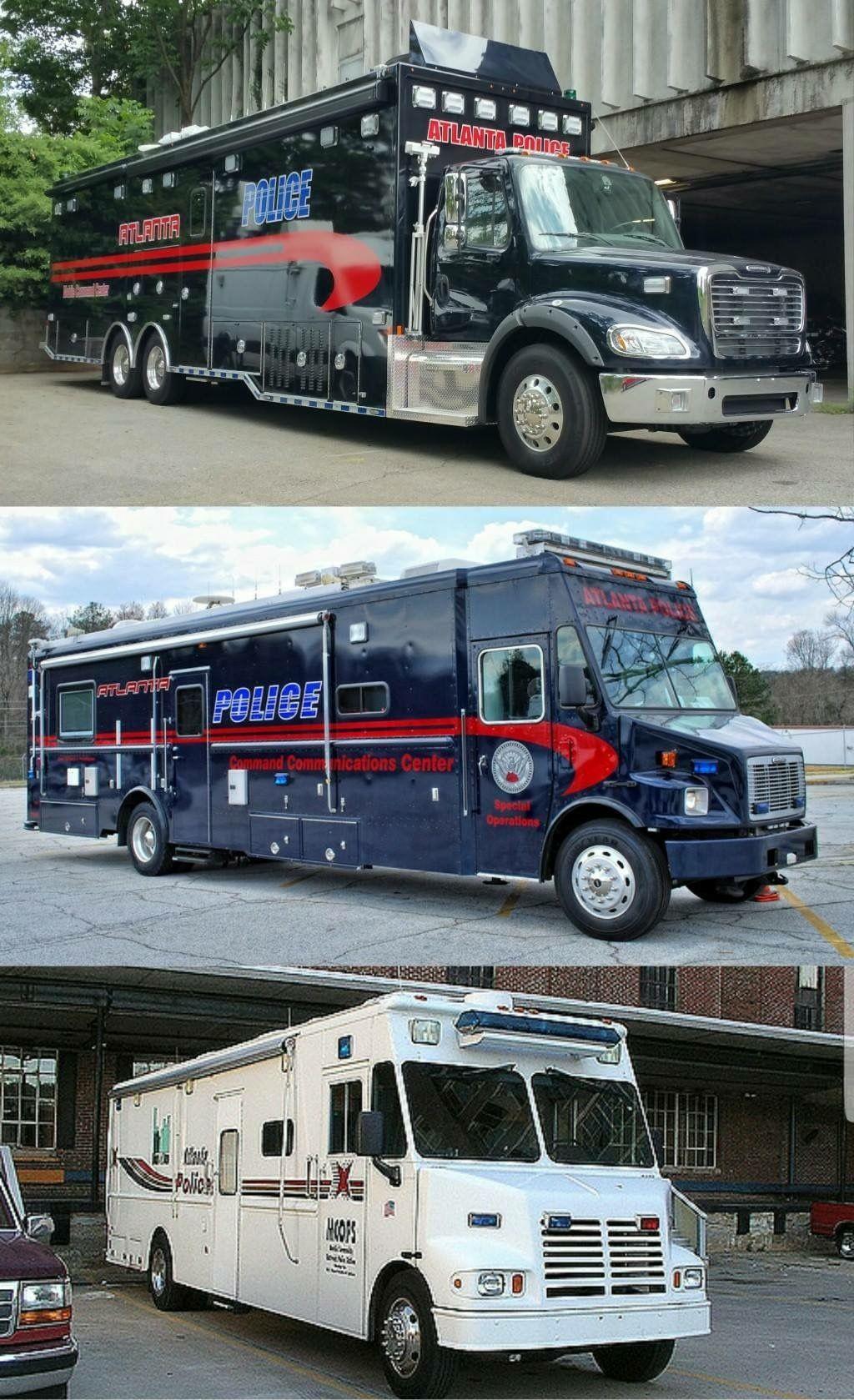 Atlanta Police Command Units! Old paint scheme verses the new paint ...