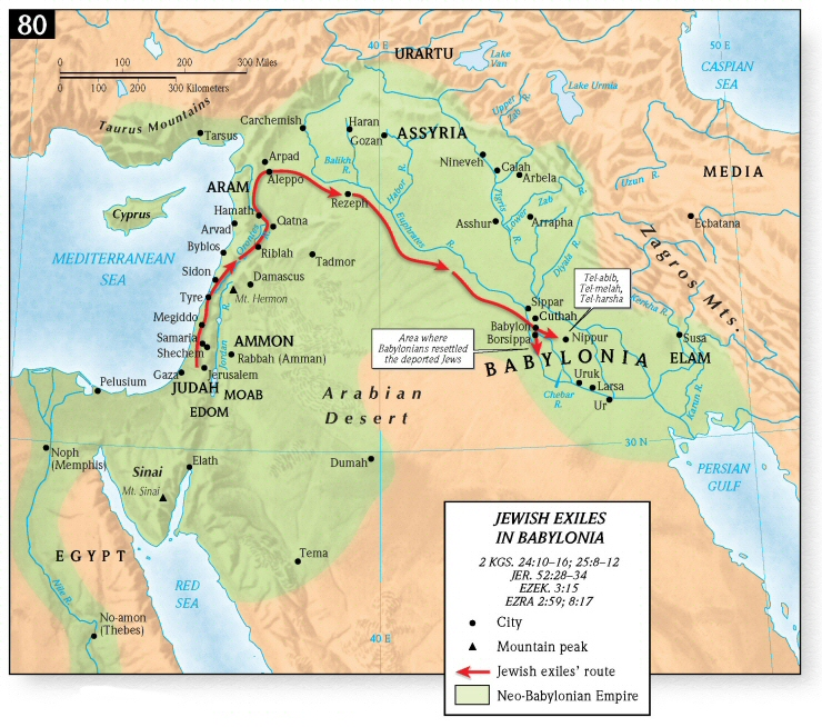 The Jewish Temples: The Babylonian Exile