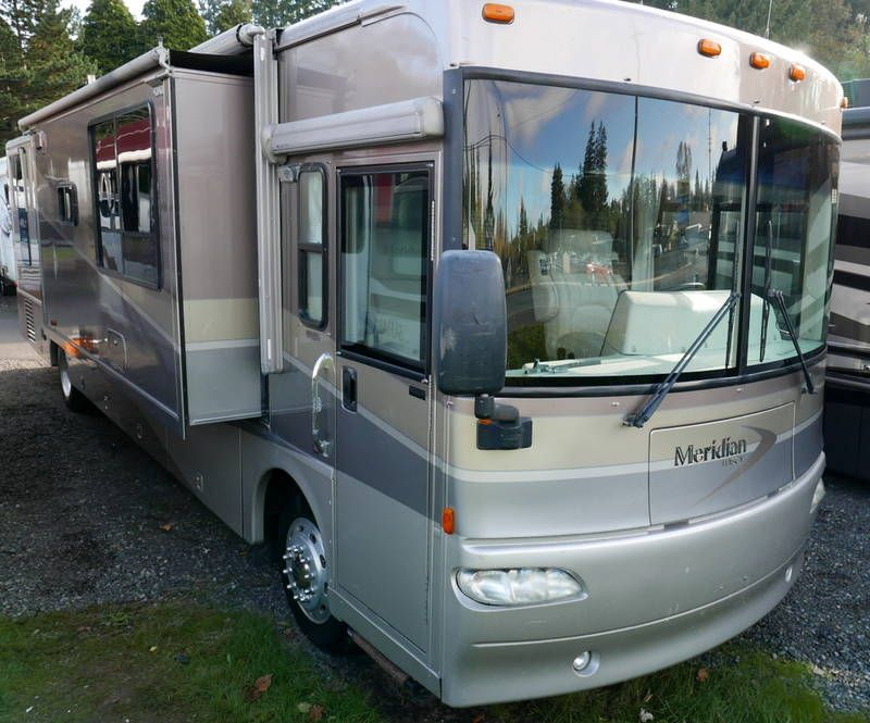 2009 Itasca Meridian 34y Rvs For Sale Basement Movie Room Air Ride