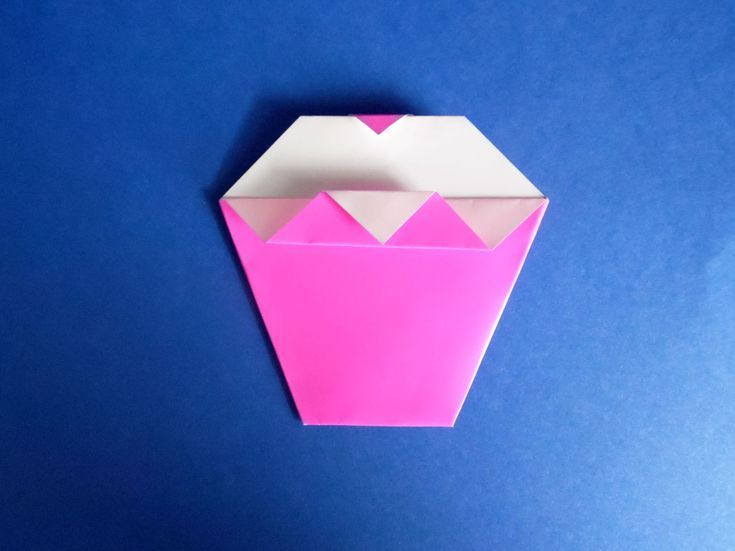 How To Make An Origami Cupcake Birthday Card Crafts For Kids