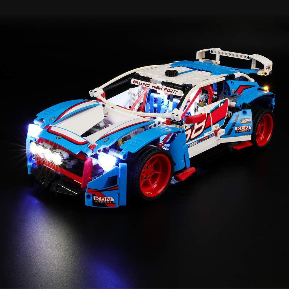 Briksmax Led Beleuchtungsset F R Lego Technic Rallyeauto Kompatibel Mit Lego 42077 Bausteinen Modell Ohne Lego Set In 2020 Lego Technic Lego Sets Rallye