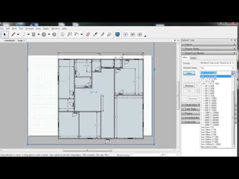 06 Sketchup Layout Construction Documents Annotations Youtube Architectural Section Floor Plans Architectural Materials