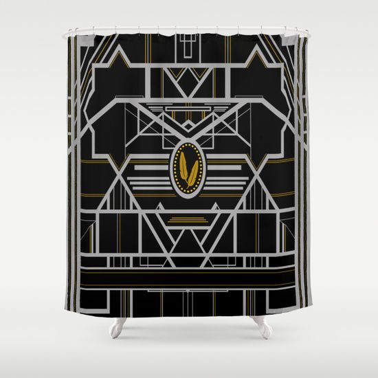Art Deco In G Shower Curtain Art