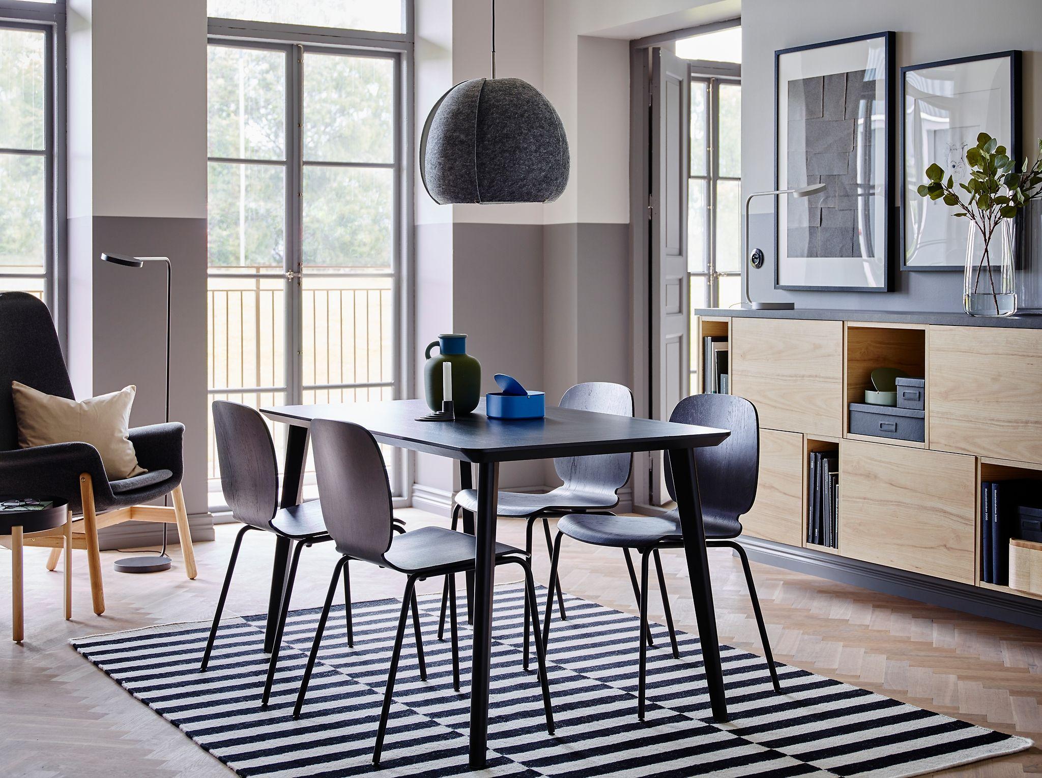 Image result for lisabo table black | Home Decor | Pinterest | Ikea ...