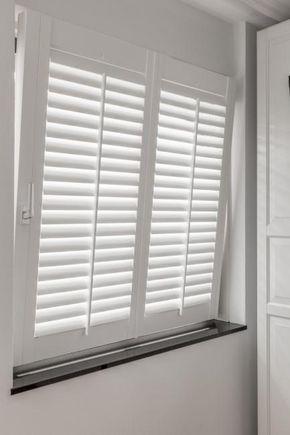 JASNO shutters op een draaikiepraam wit - Slaapkamer | Pinterest ...