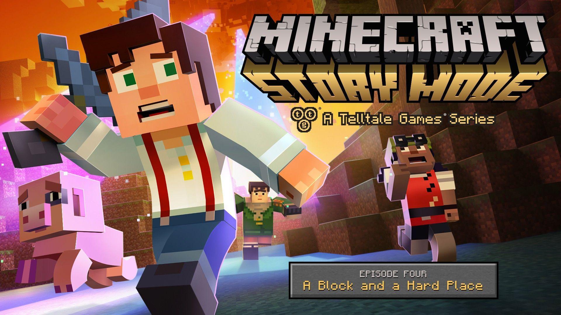 Minecraft Story Mode ستسحب من المتاجر في الـ25 من الشهر الحالي