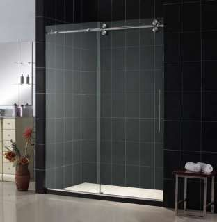 kohler frameless shower door kohler fluence frameless sliding shower door with 037 thick crystal - Kohler Shower Doors