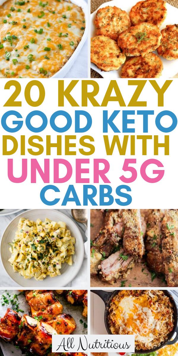 Photo of 20 Krazy Good Keto Gerichte mit unter 5G Kohlenhydraten