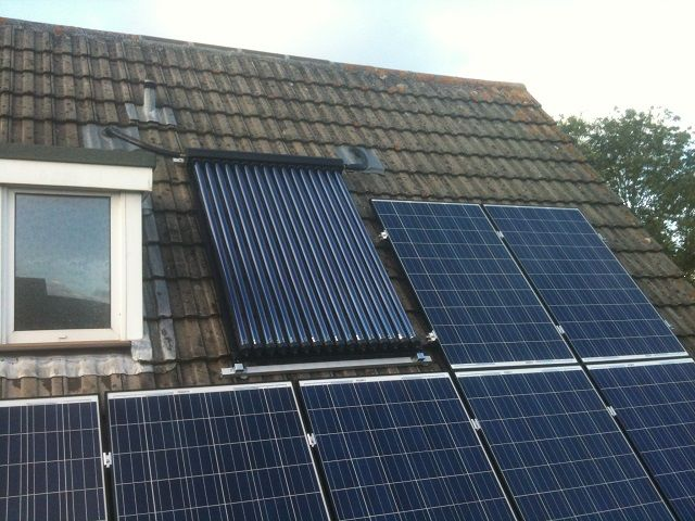 Eco Exmoor Solar Thermal Hot Water Installations South West England Solar Thermal Panels Solar Hot Water System Solar Thermal