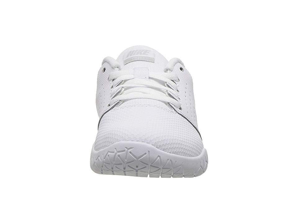 aefb93b21153 Nike Kids Sideline IV Cheerleading Shoe (Little Kid) Girls Shoes White Pure  Platinum