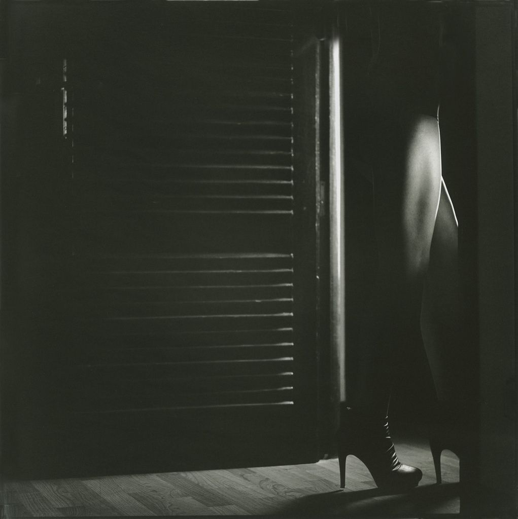 Film noir light through door    Edward Olive