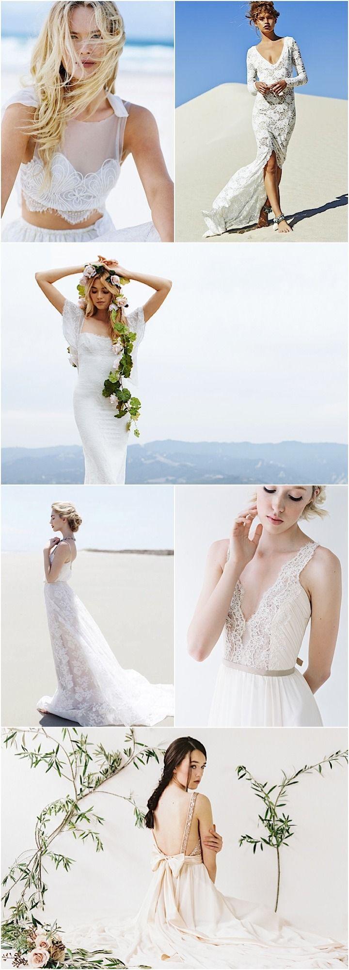 The hottest beach destination wedding dresses of wedding
