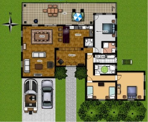 Online floor plan design software homestyler vs for Online 3d program