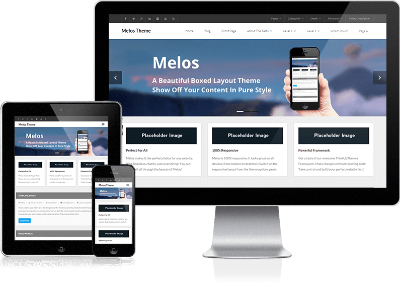 Melos – Tema WordPress Gratis Multiuso | WordPress Template ...