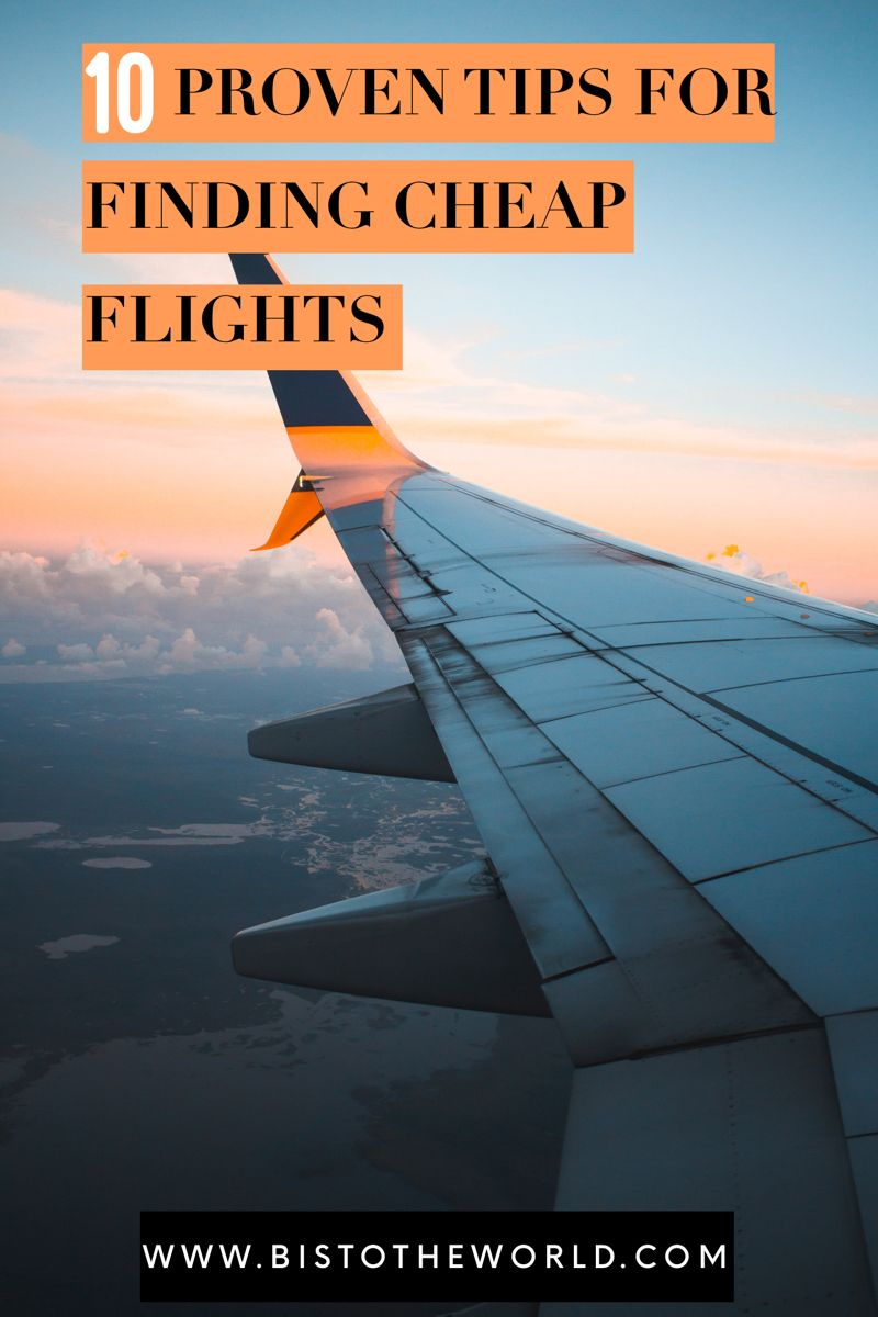 For a lot of people the thing stopping them from travelling is not being able to afford it. And flights tend to be the most expensive part of any trip. So I've put together 10 tips on how to find cheap flight deals! #cheapflights #cheapflying #traveldeals #flightdeals #travelaffordable #travelmoney #findcheapflights
