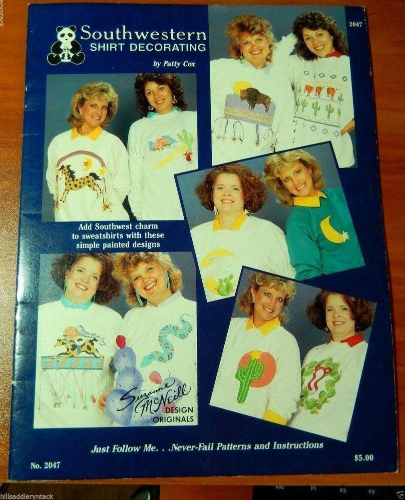 South West Susan McNeill Design Originals # 2047 Southwestern Shirt Decorating #DesignOrginalsFortWorthTexas