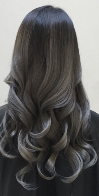 Dark Grey Granny Hair Balayage Aloi Color From Desertviking Can Give You