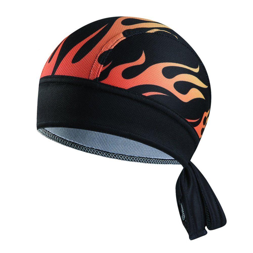 Adjustable Skull Cap Beanie Helmet Liner Cycling Hat Sweat Wicking Biking Caps Bandana Head Wrap For Men Women Black Cycling Cap Bicycle Hat Bicycle Race