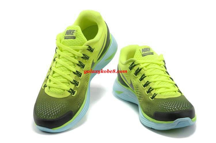 Cheap Lunarglide 4 Mens Black Volt Trainer Shoes 524977 013      #Volt  #Womens #Sneakers