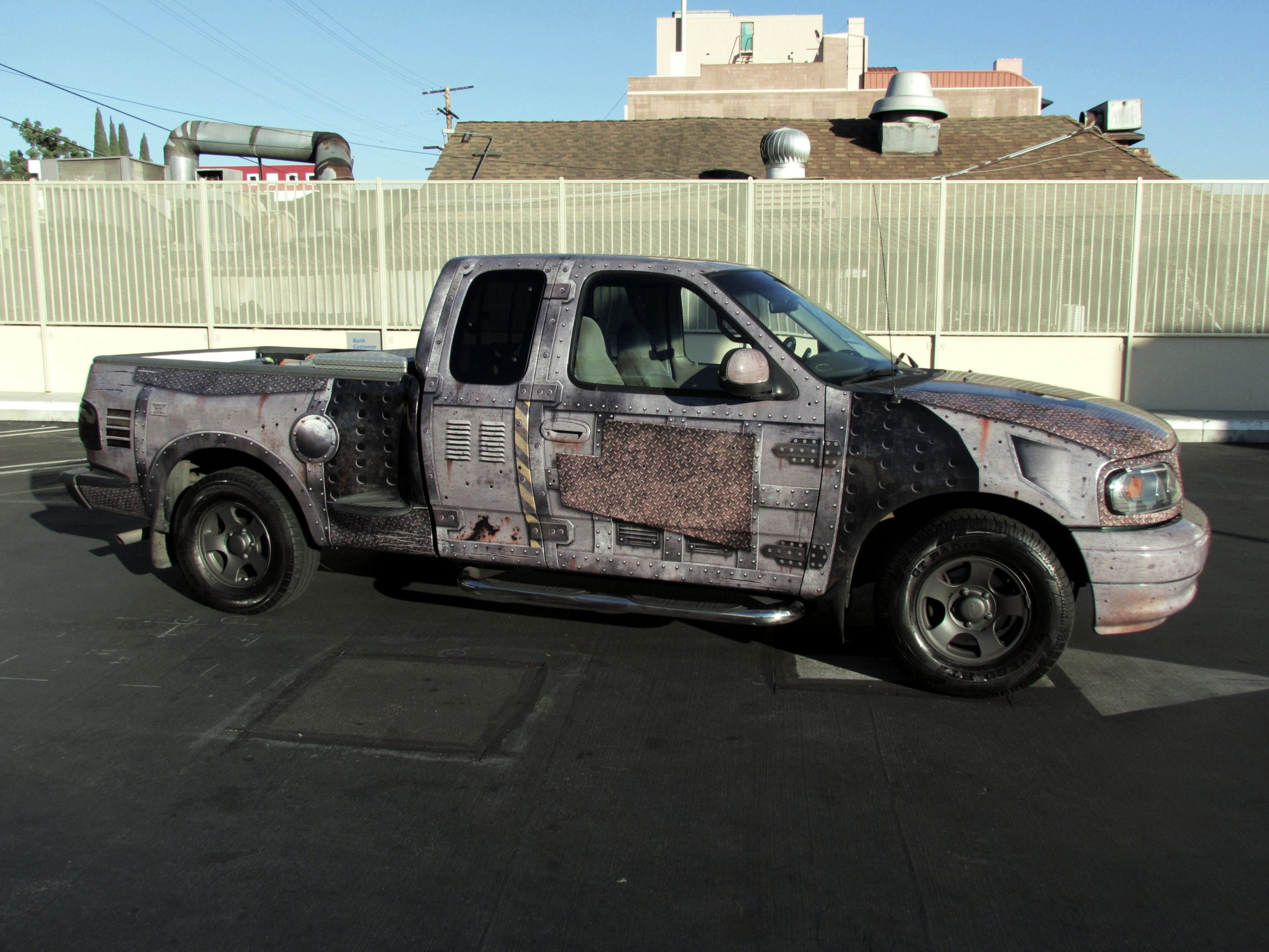 Truck wrap designed and installed by john king los angeles