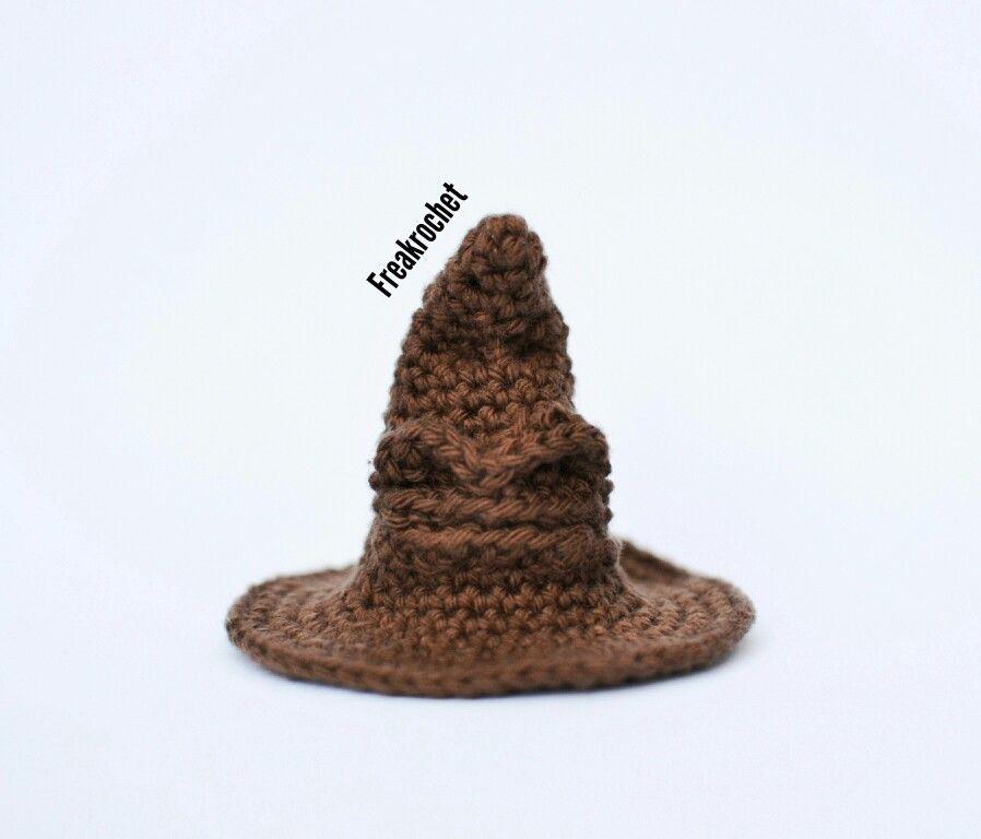 Sombrero seleccionador de Harry Potter. Crochet. Amigurumi ...