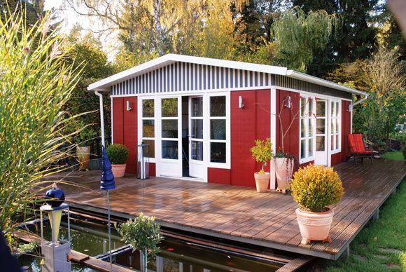 Farben für den Außenbereich Gartenhaus, Gartenhaus farbe