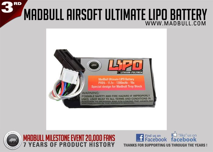 MadBull Airsoft 3rd Milestone Event