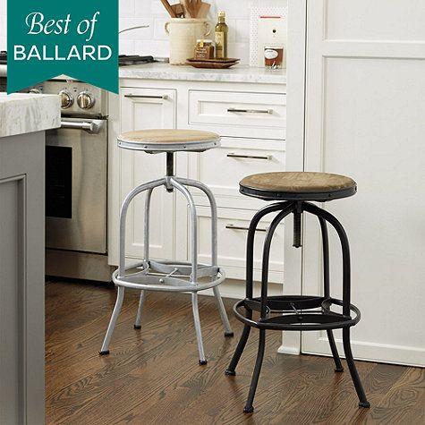 Ballard Designs Stools allen stool   fremont   pinterest   stools, kitchens and kitchen