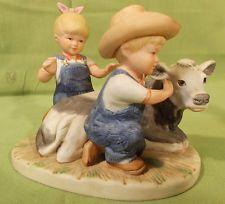 "Home Interior figurine, ""DENIM DAYS"" | Figurines - Denim Days ..."