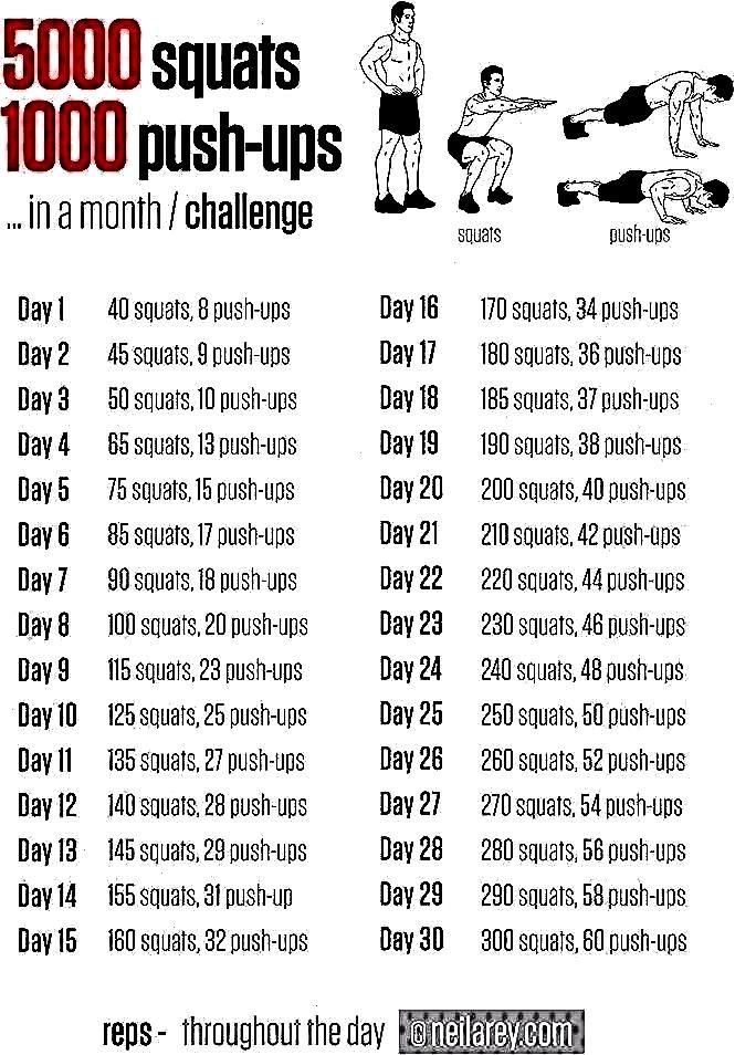 ups 30-da...5000 squats and 1000 push ups 30-da...squats and 1000 push ups 30-da...5000 squats and