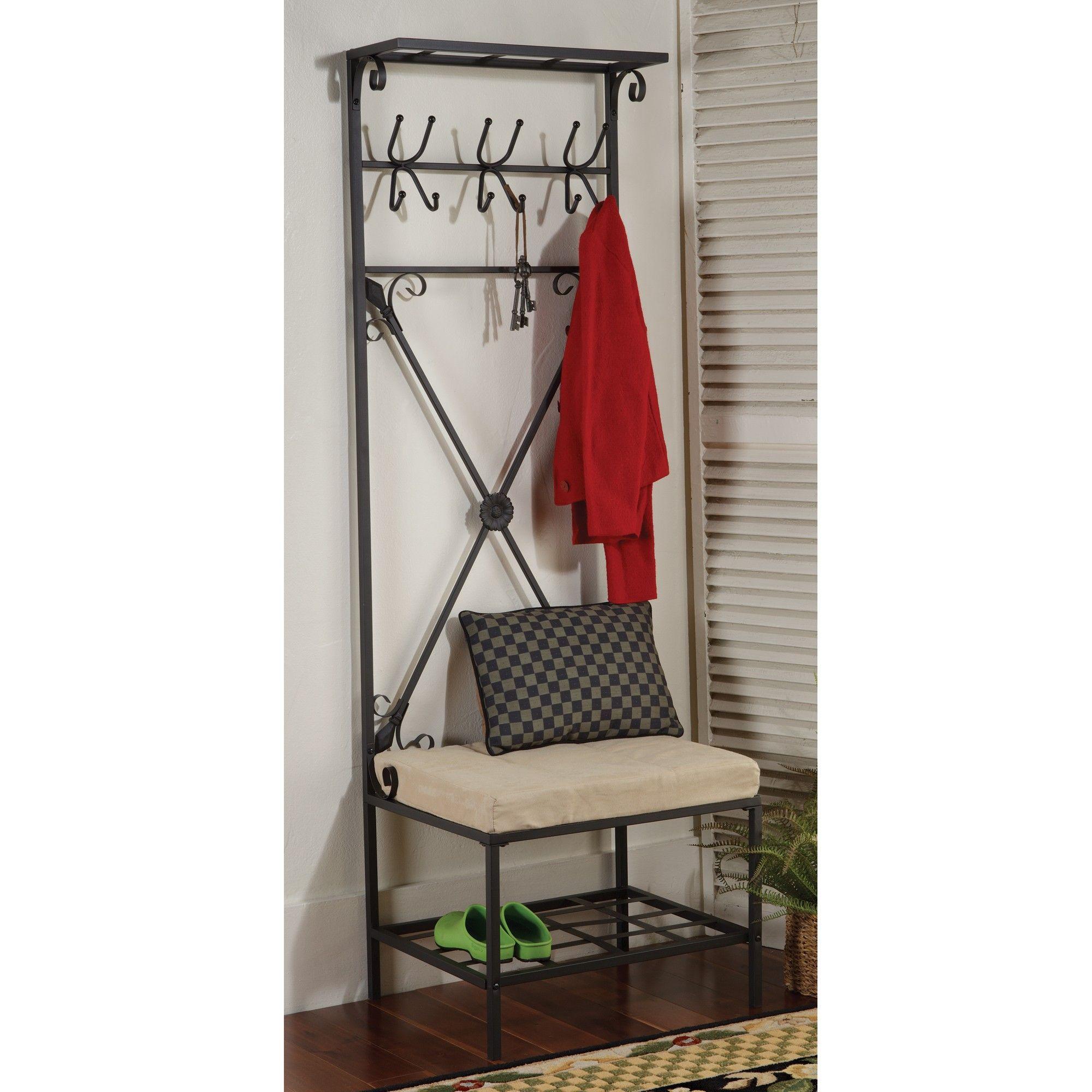 Hallway storage rack  shelf designs  Google Search  wardrobescabinetsclosets