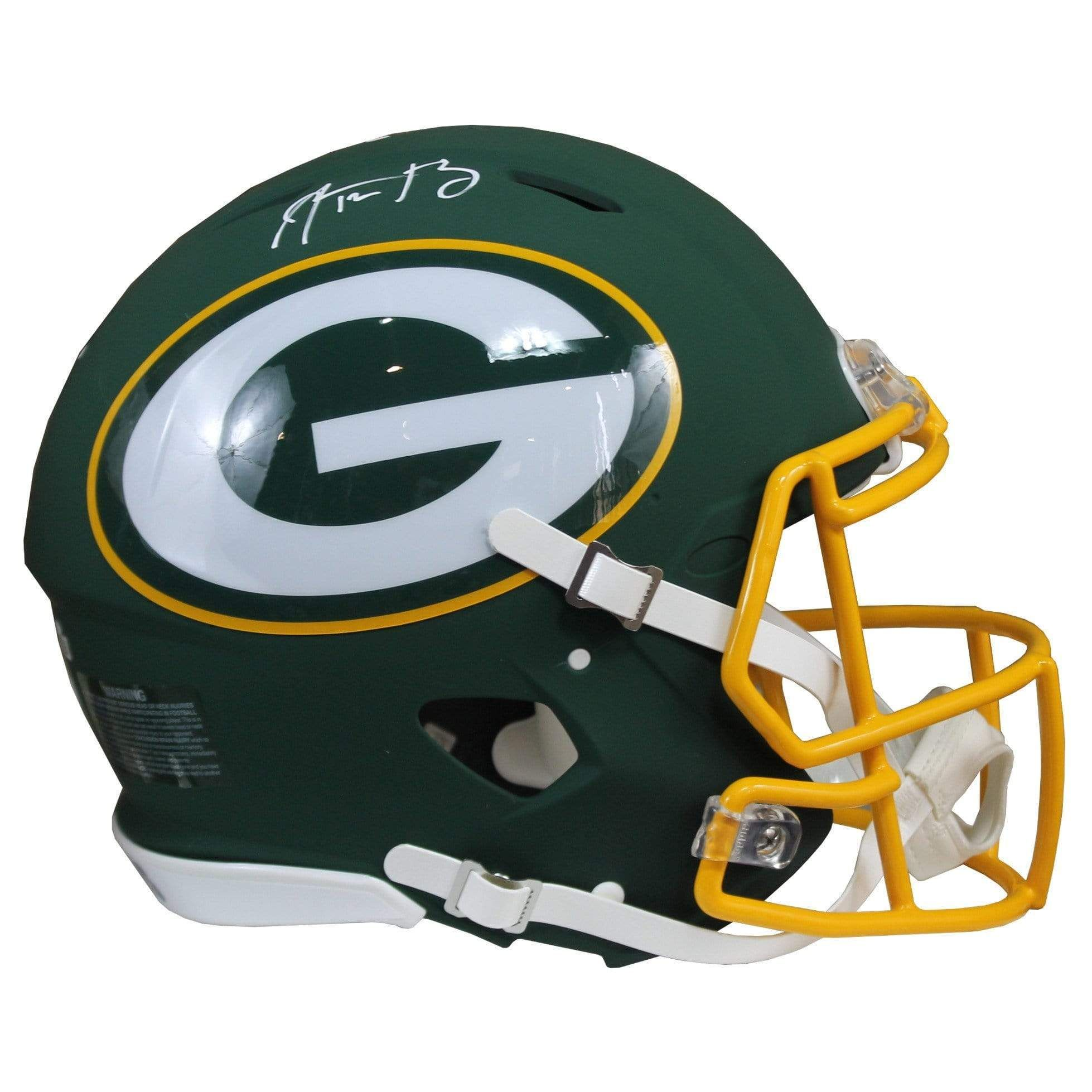 Aaron Rodgers Signed Green Bay Packers Riddell Speed Full Size Green Amp Nfl Helmet Nfl Green Bay Packers Green Bay