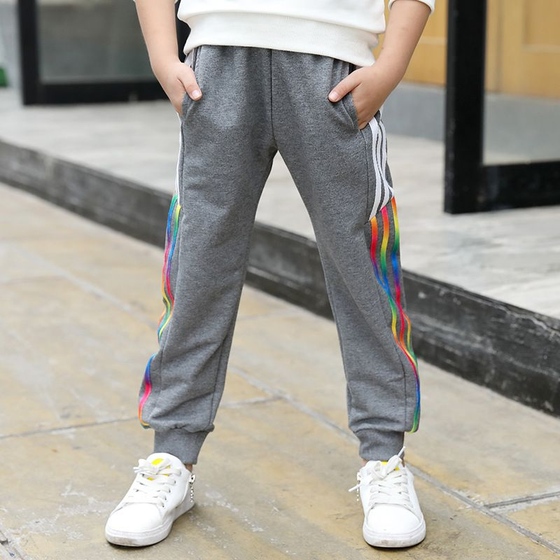 7 Casual Boys 6 10 Pants 5 4 8 9 Striped Autumn Teenagers Wear For tdqq6wv