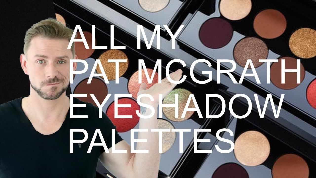 Rating all my pat mcgrath eyeshadow palettes youtube