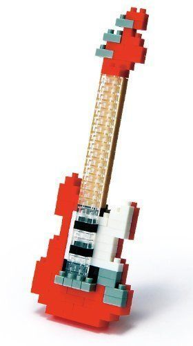 Lego Red Electric Guitar