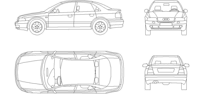 Audi Araba Cizimi Araba Cizim Sanat