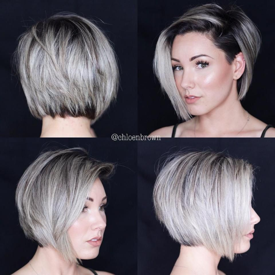 cute bob haircuts for fine hair in hairs pinterest