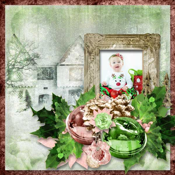 THE FIRST DAY OF CHRISTMAS - Digishoptalk - The Hub of the Digital Scrapbooking Community