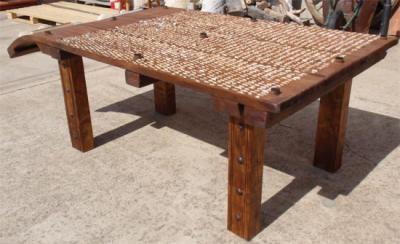 Outdoorküche Deko Uñas : Magnifico mesa de trillo. la medida es 2 20x1 17 x 82 cm. la patas