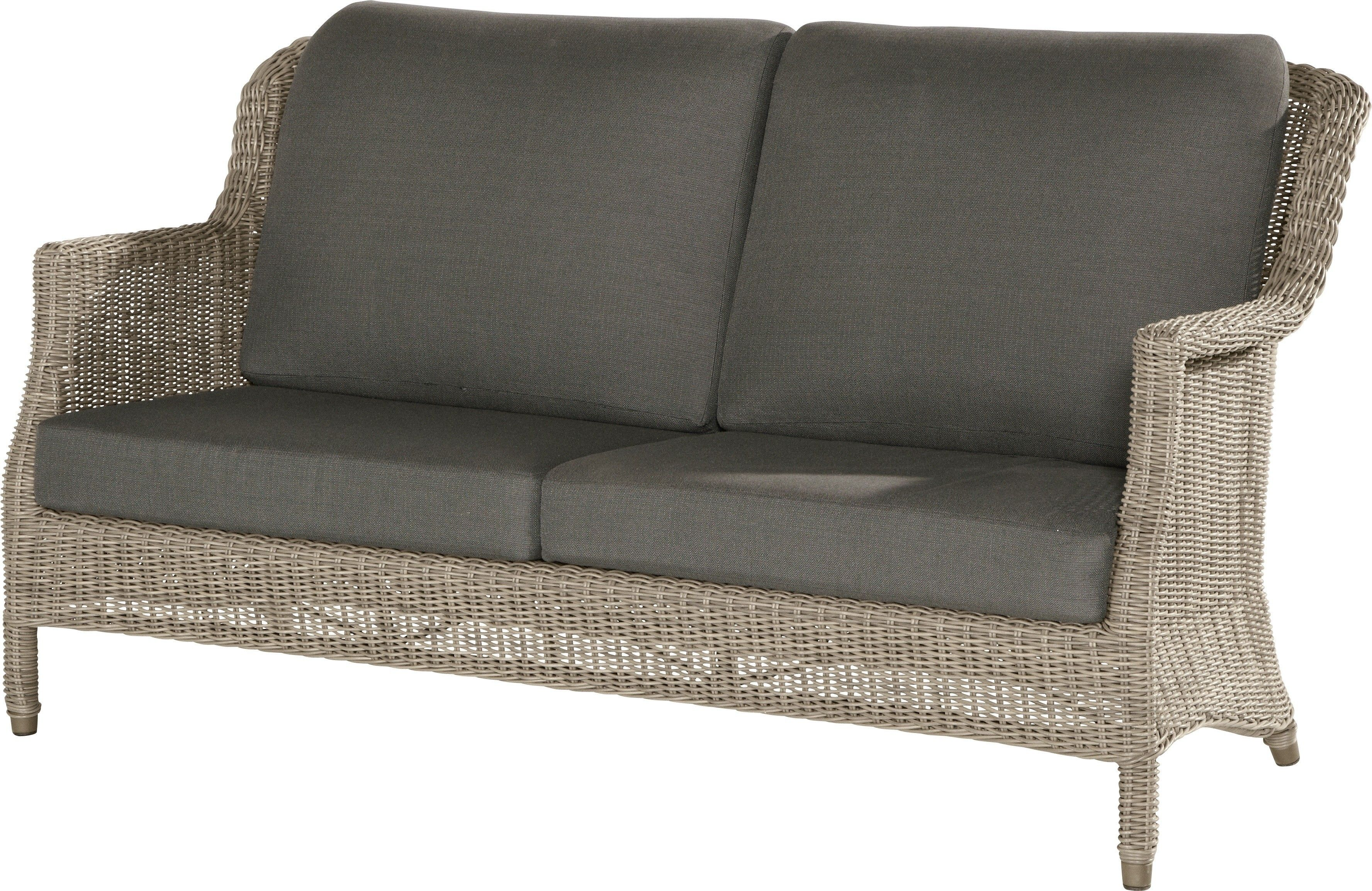 4 Seasons Outdoor Del Mar loungebank 2.5 zits met 4 kussens - Pure aanbieding!