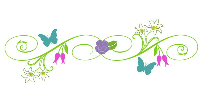 9 Best Images Of Spring Clip Art Borders Spring Flowers Page