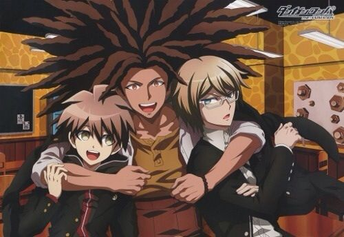 Naegi, Hagakure and Togami