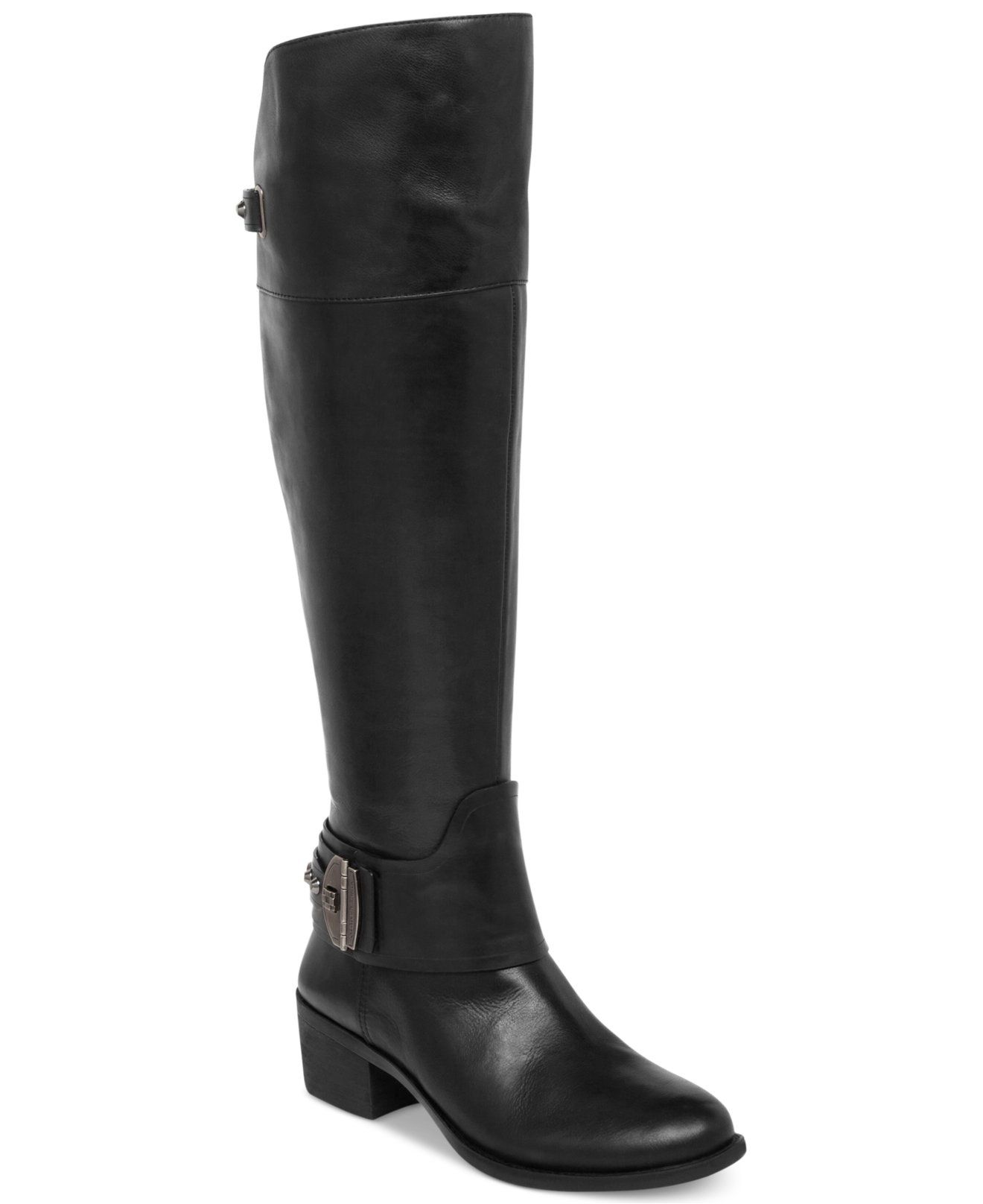 Vince Camuto Beatrix Over The Knee Wide Calf Riding Boots Shoes