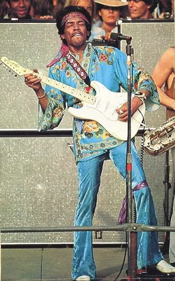 Could Jimi Hendrix Rock S Teflon Fashion Plate Have Withstood The Stylistic Landmines Of The 1980s Rock Town Jimi Hendrix Jimi Hendrix Experience Hendrix