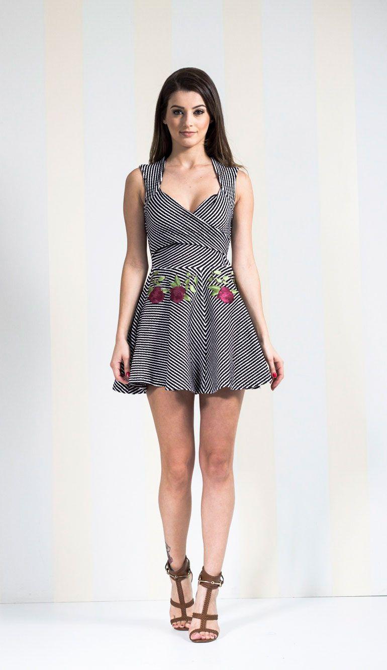 Fotos de vestido de malha curto