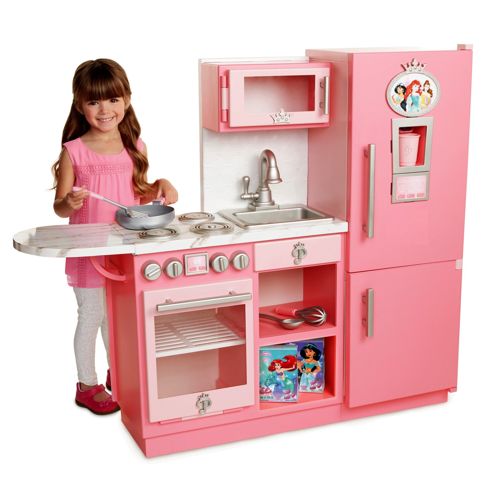 Disney Princess Style Collection Gourmet Kitchen 12pc Princess Kitchen Kitchen Sets For Kids Disney Princess Kitchen