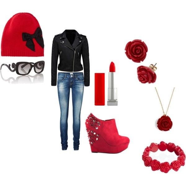 """""""BiKeR CHiCK DiVa"""" by beanie-babii on Polyvore"""