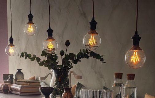 Gluhbirnen Lampe Ikea